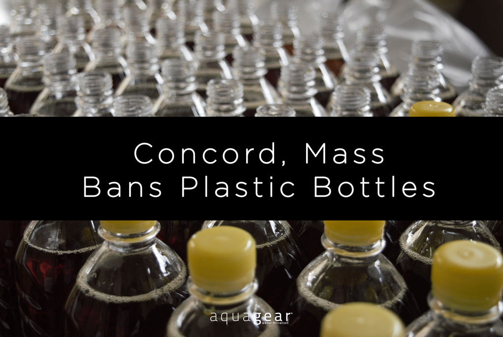 Concord, Mass. Bans the Sale of Bottled Water