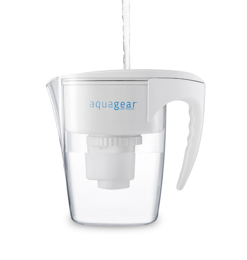 Aquagear Fluoride And Lead Filter Pitcher