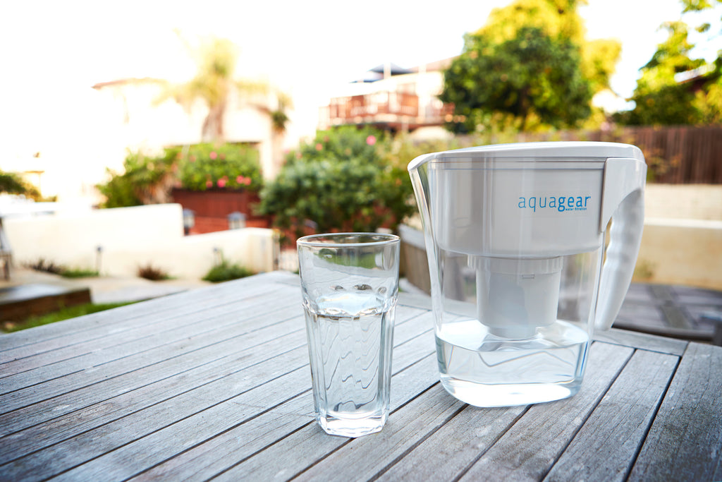aquagear fluoride free filter pitcher