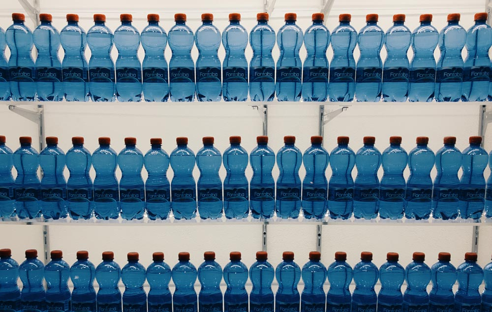 50 billion plastic water bottles are made each year
