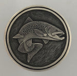 HAND ENGRAVED TROUT BY BILL OYSTER