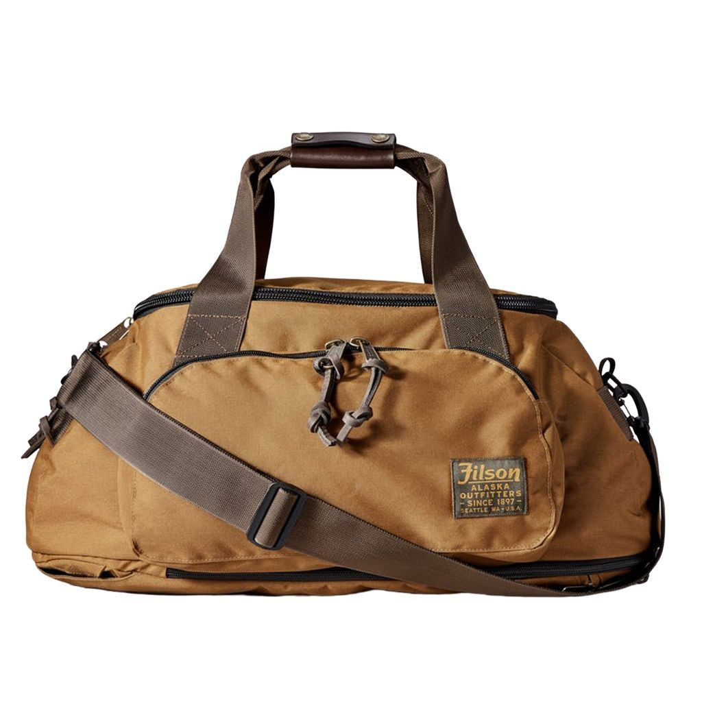 filson duffle backpack oyster bamboo fly rods