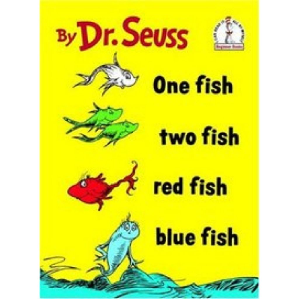 dr seuss books for sale at oyster bamboo fly rods one fish two fish