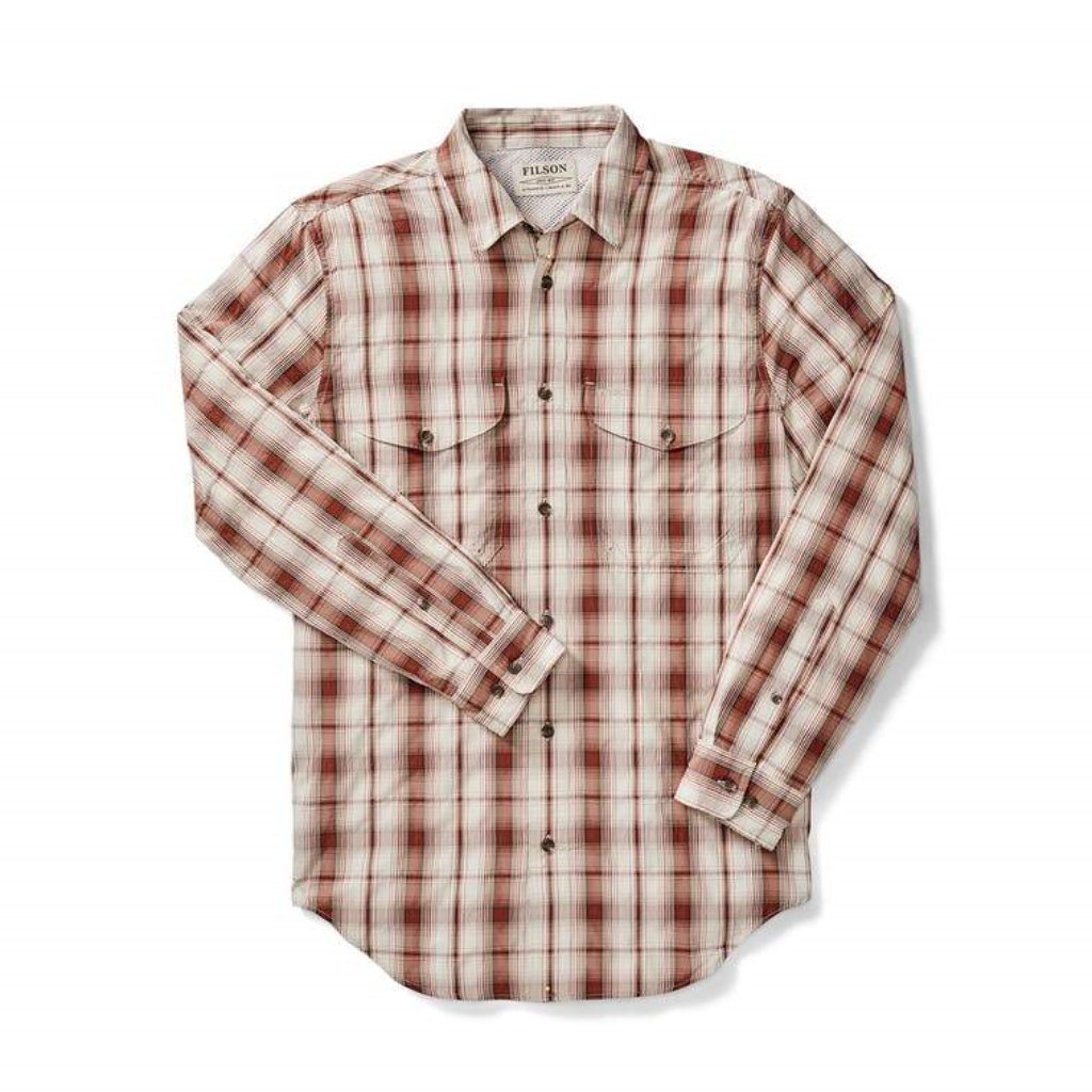 Filson Sport Shirt with Oyster logo Oyster Bamboo Fly Rods