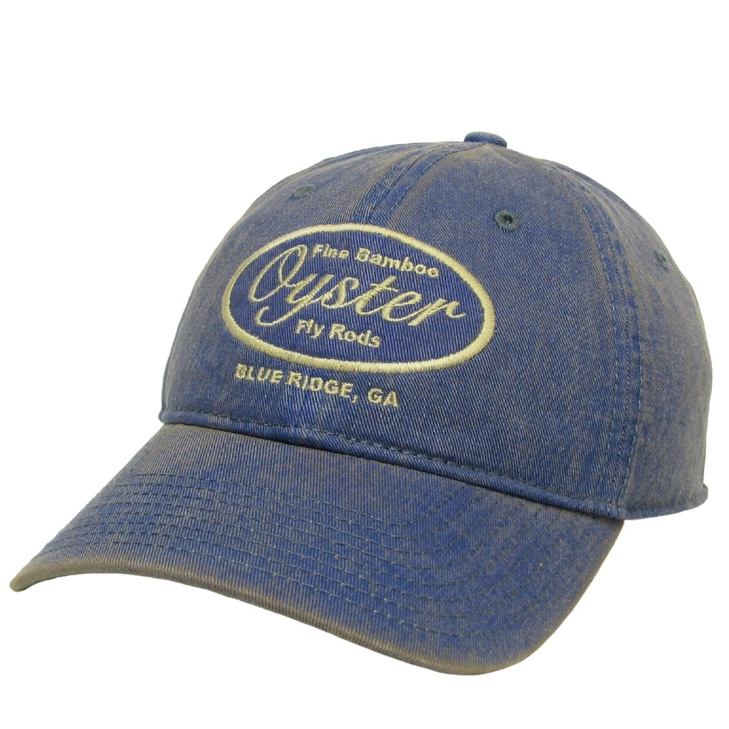 blue 6 panel legacy hats oyster bamboo fly rods