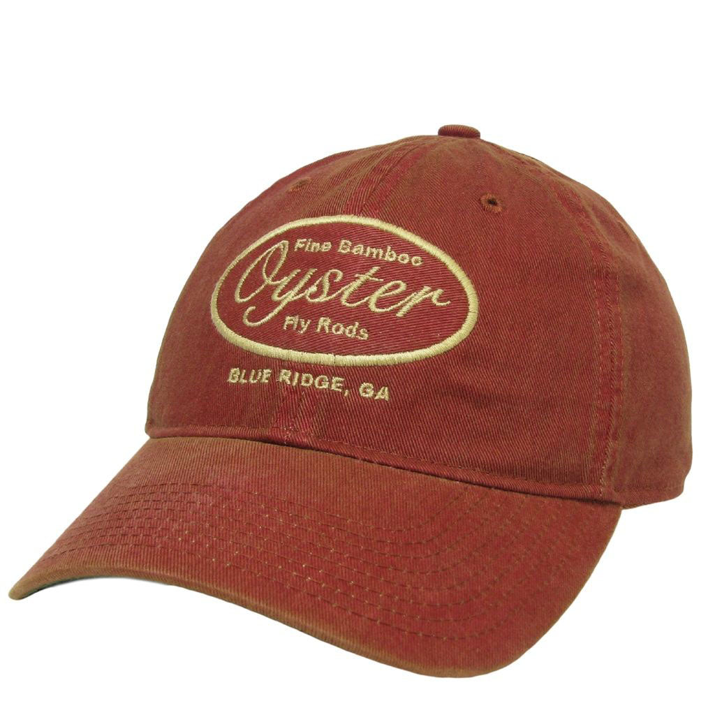 cardinal 6 panel legacy hat oyster bamboo fly rods