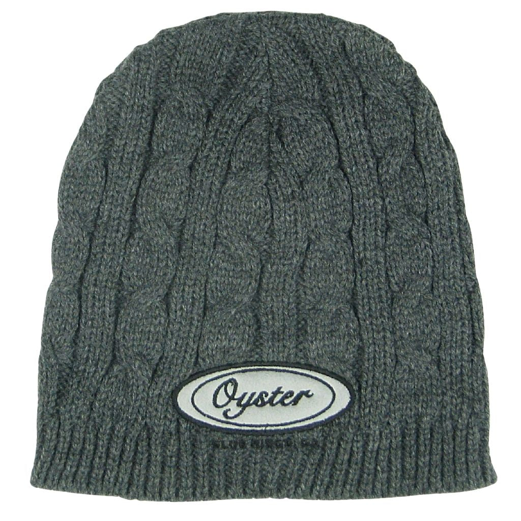 Legacy knit beanies with Oyster logo