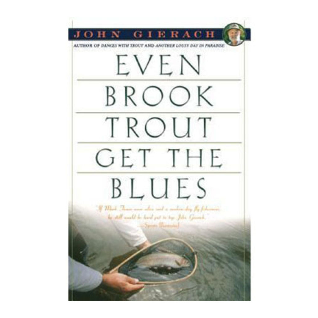Even brook trout get the blues Fly Fishing Books Oyster Bamboo Fly Rods