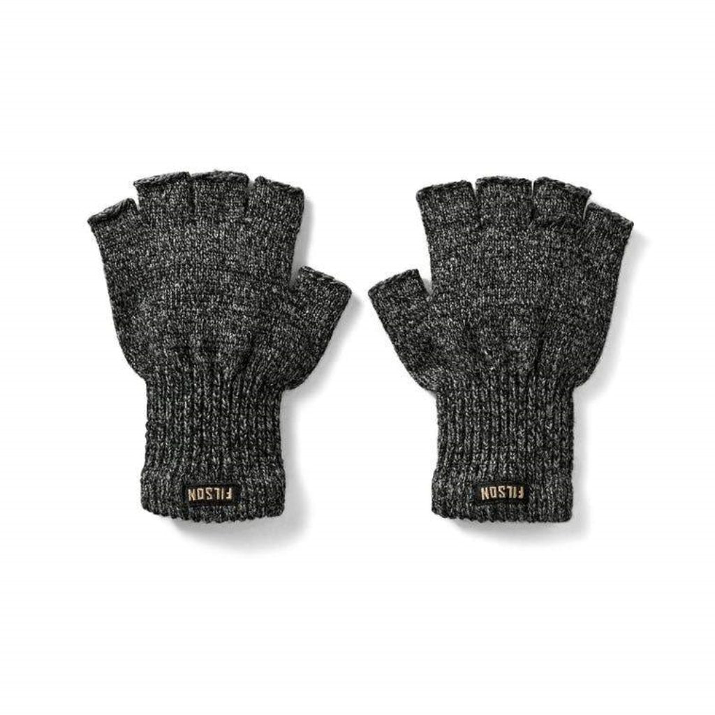 Filson Fingerless Gloves Oyster Bamboo Fly Rods