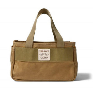 Filson Shot Shell Bag Oyster Bamboo Fly Rods