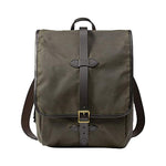 Otter Green Filson Tin Cloth Backpack Oyster Bamboo Fly Rods