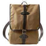 Whiskey Filson Tin Cloth Backpack Oyster Bamboo Fly Rods