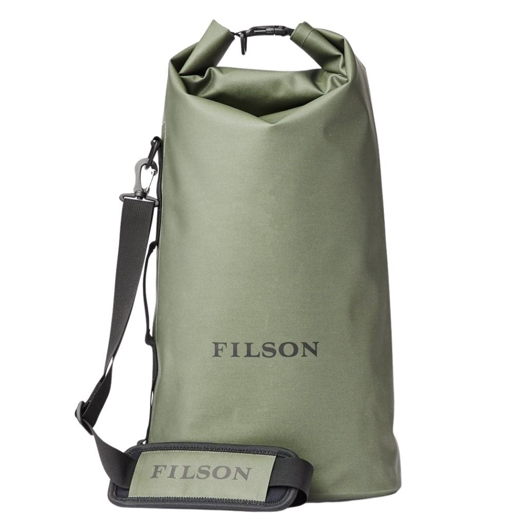 filson large dry bag for sale at oyster bamboo fly rods