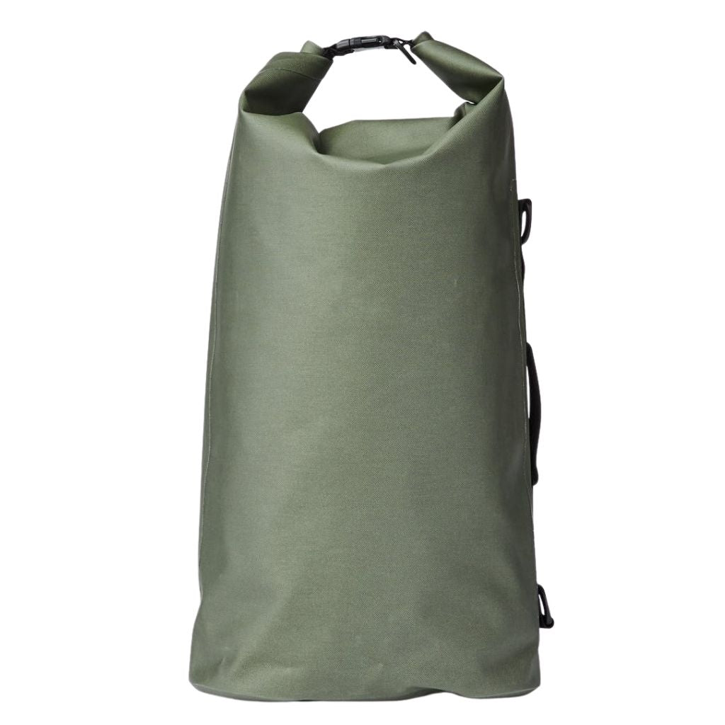 back of filson large dry bag for sale at oyster bamboo fly rods