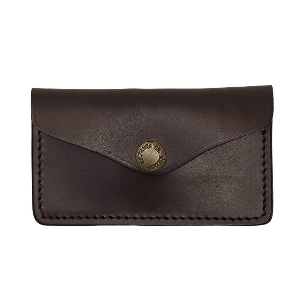 Filson Bridle Leather Snap Wallet