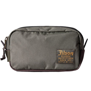 Green Filson Travel Pack Oyster Bamboo Fly Rods