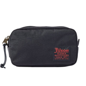 Navy Filson Travel Pack Oyster Bamboo Fly Rods