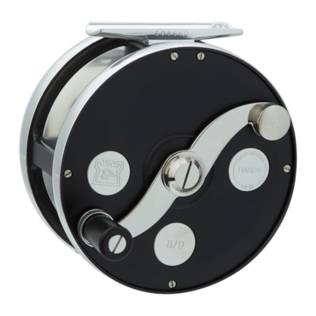 hardy cascapedia reel sold at oyster bamboo fly rods