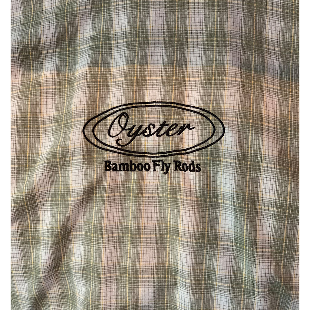 simms big sky fishing shirts with oyster logo sold at oyster bamboo fly rods