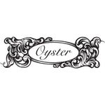 oyster bamboo fly rod scroll logo designed by bill oyster