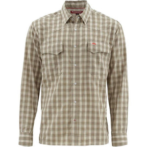 Simms Big Sky Long Sleeve Shirt with Oyster Logo