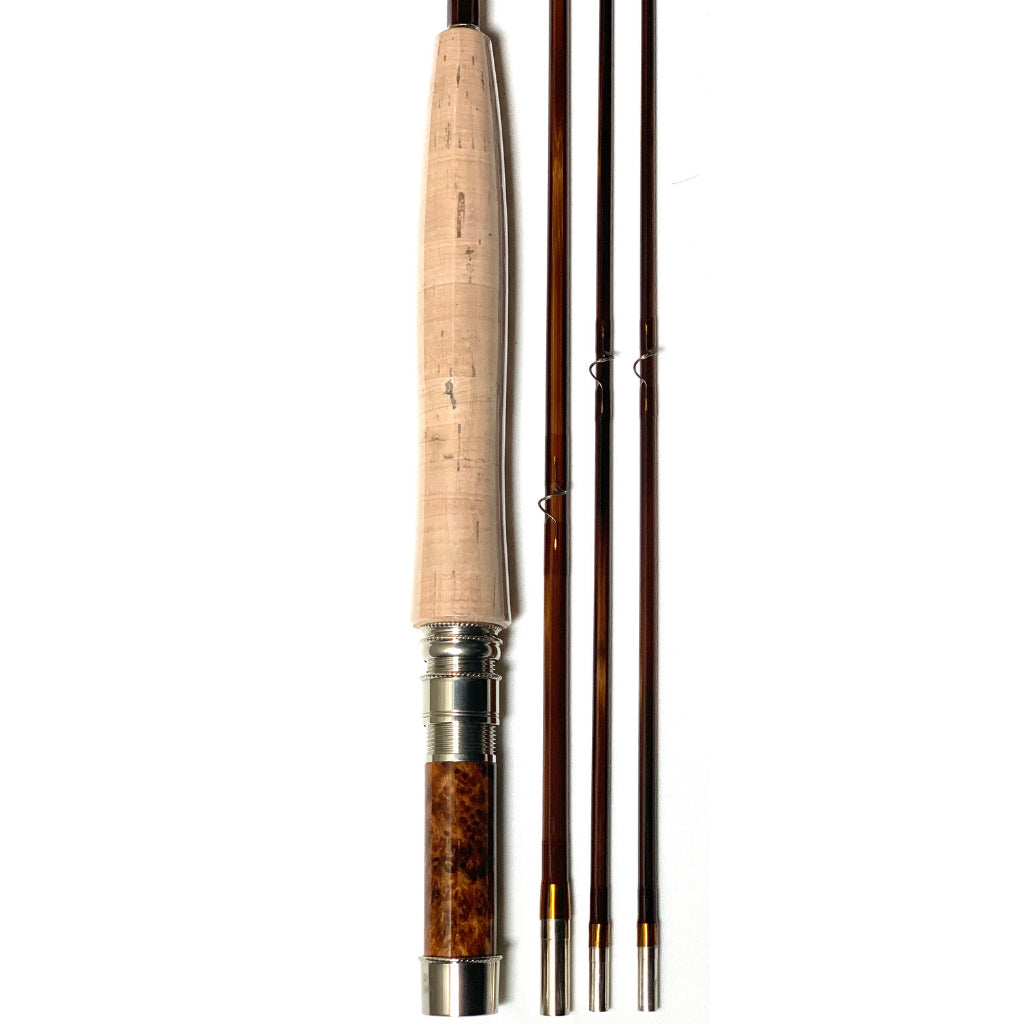 downlocking hand crafted oyster bamboo fly rod