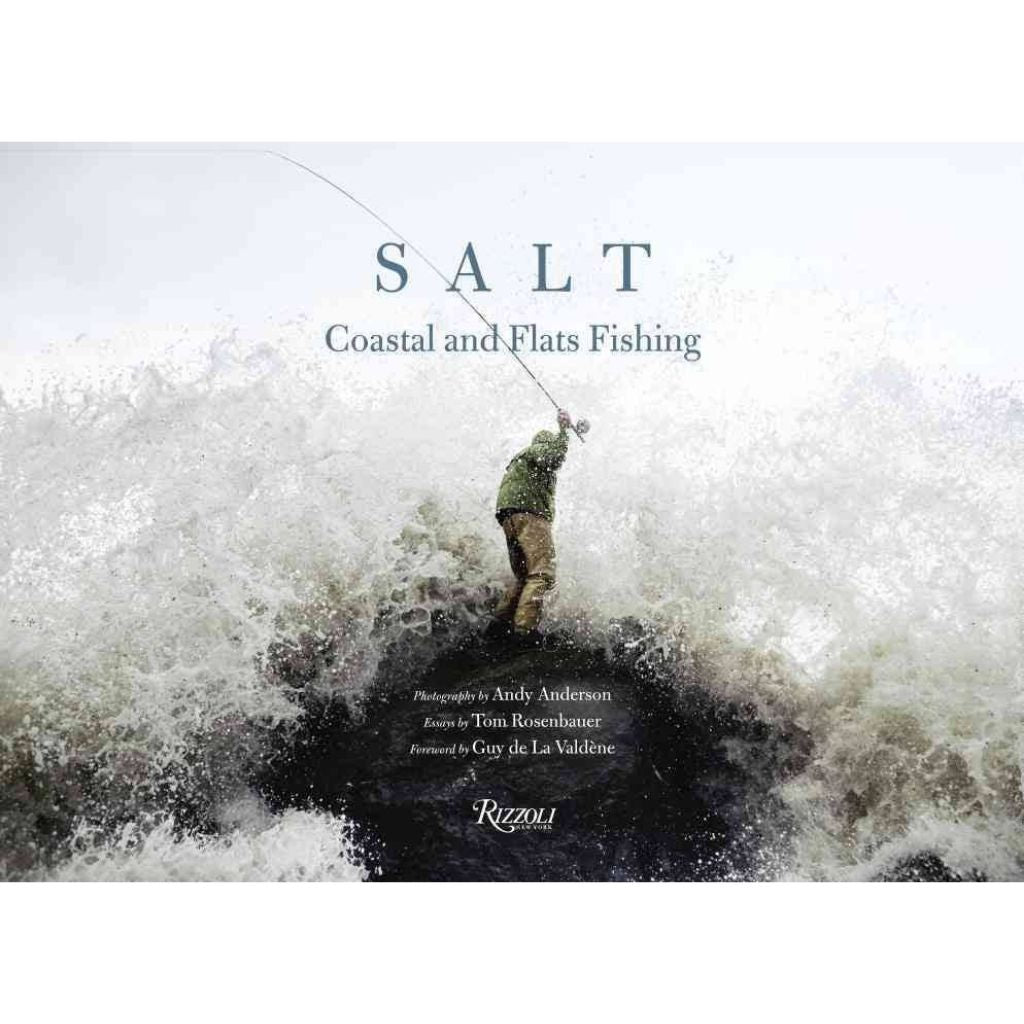 Salt coastal and flats fishing by andy anderson oyster favorites books fly fishing