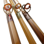 wrap and guides on oyster bamboo fly rods