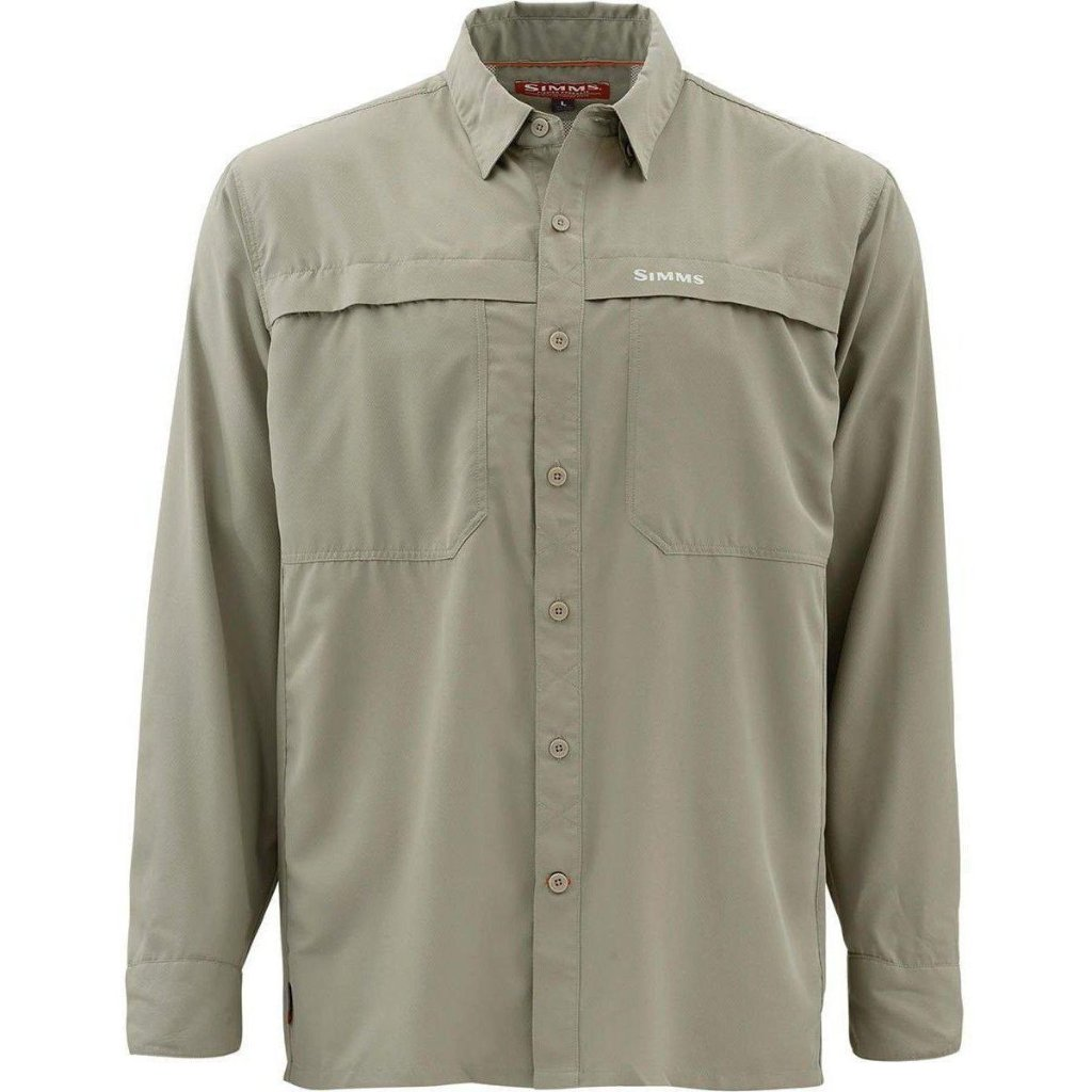 Simms ebb tide fishing shirts sold at oyster bamboo fly rods