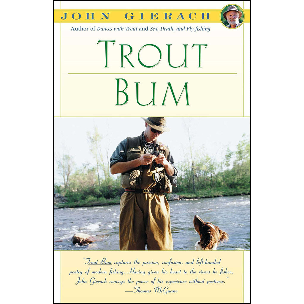 Trout Bum - paperback sold by Oyster Bamboo Fly Rods