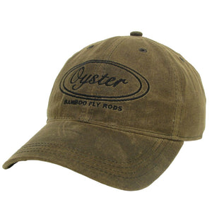 dark brown waxed 6 panel legacy hats oyster bamboo fly rods