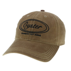 Brown oil cloth Legacy Hat Oyster Bamboo Fly Rods