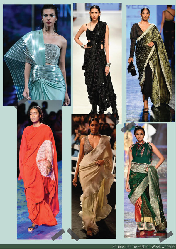 Sarees @ Lakme Fashion Week