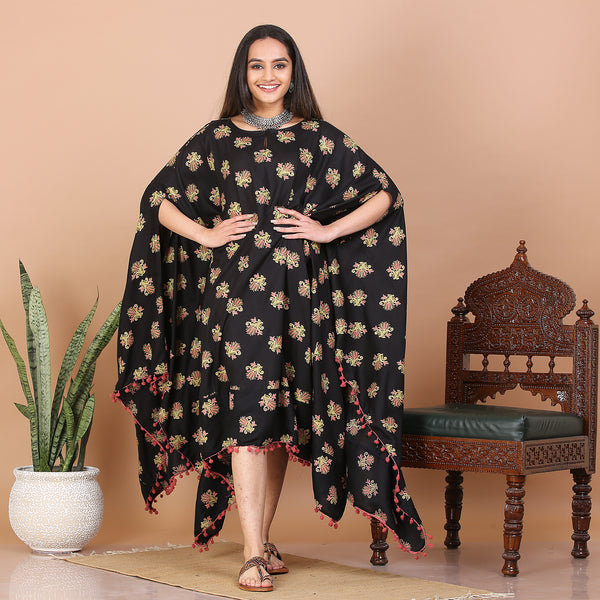 Black Kaftan Dress