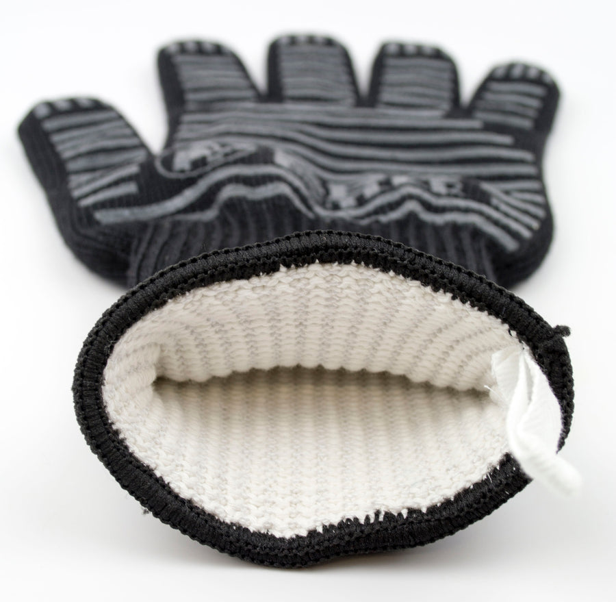 Heat Resistant Knit Grill Gloves - 2 Pack
