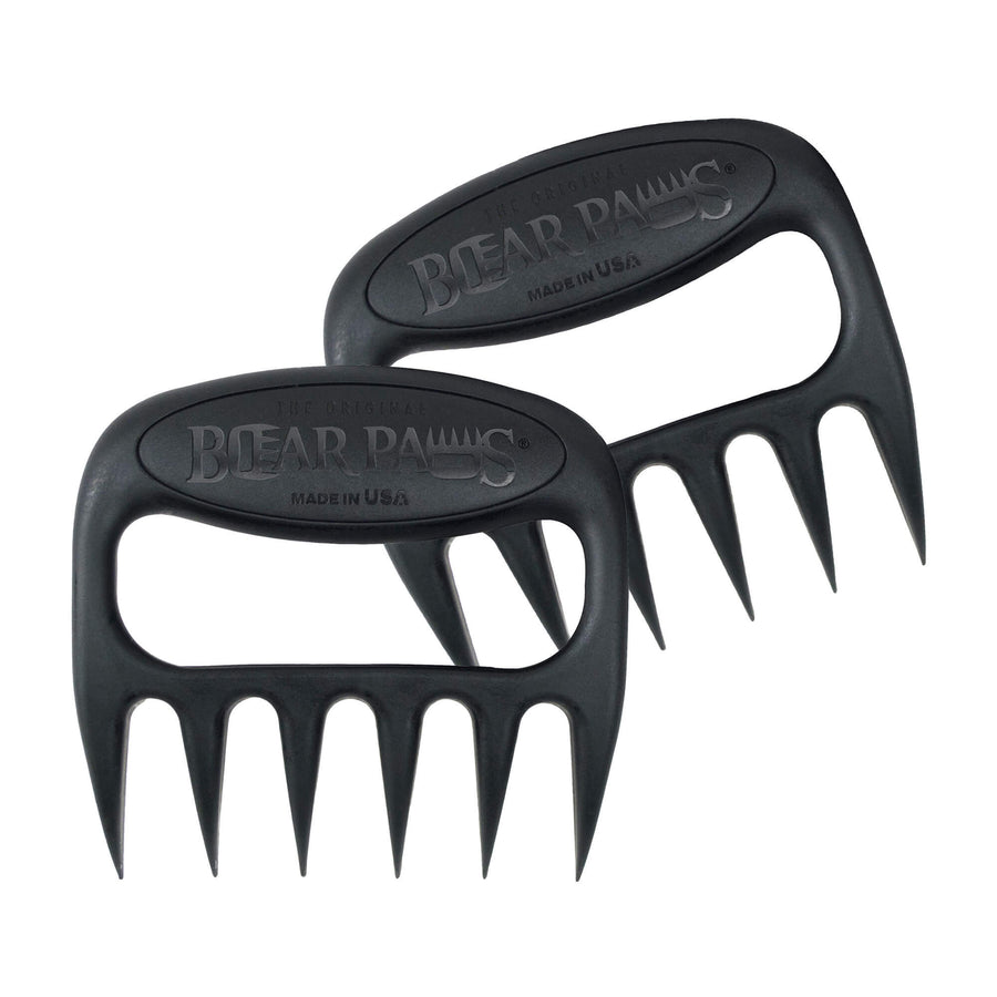 The Original Bear Paws Meat Shredders - Black