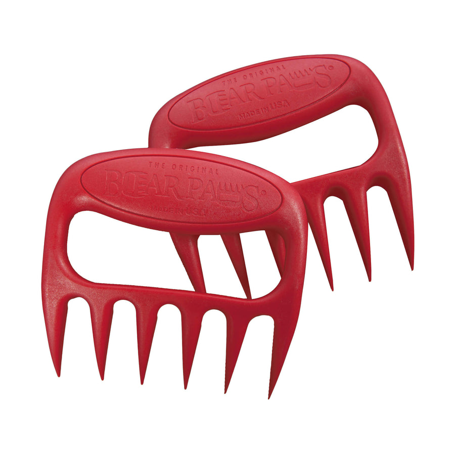 The Original Bear Paws Meat Shredders - Red