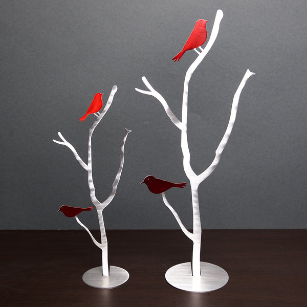 Bird Branches - by Sondra Gerber - ©2019 Metal Petal Art
