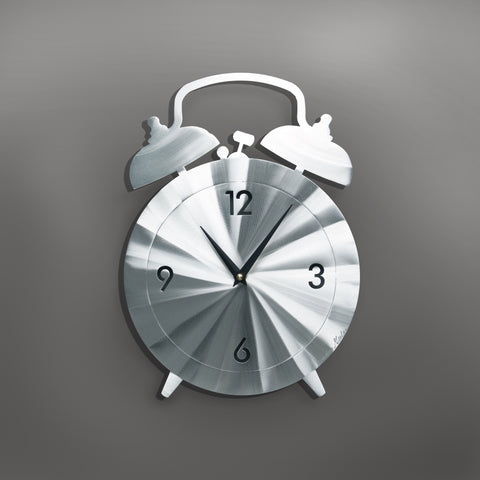 Alarm Clock - by Sondra Gerber - ©2019 Metal Petal Art