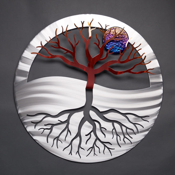 NEW- Tree of Life - by Sondra Gerber - ©2019 Metal Petal Art