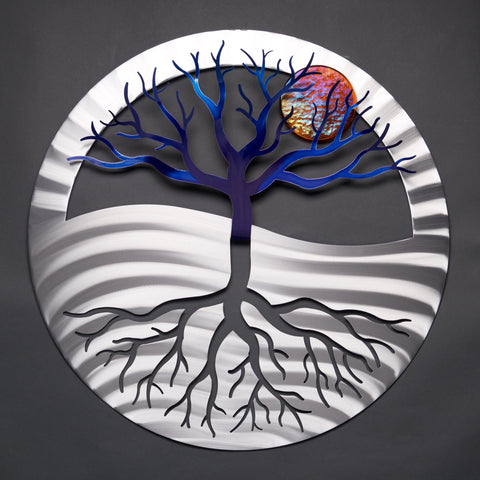 Tree of Life - Collector Series - by Sondra Gerber - ©2019 Metal Petal Art