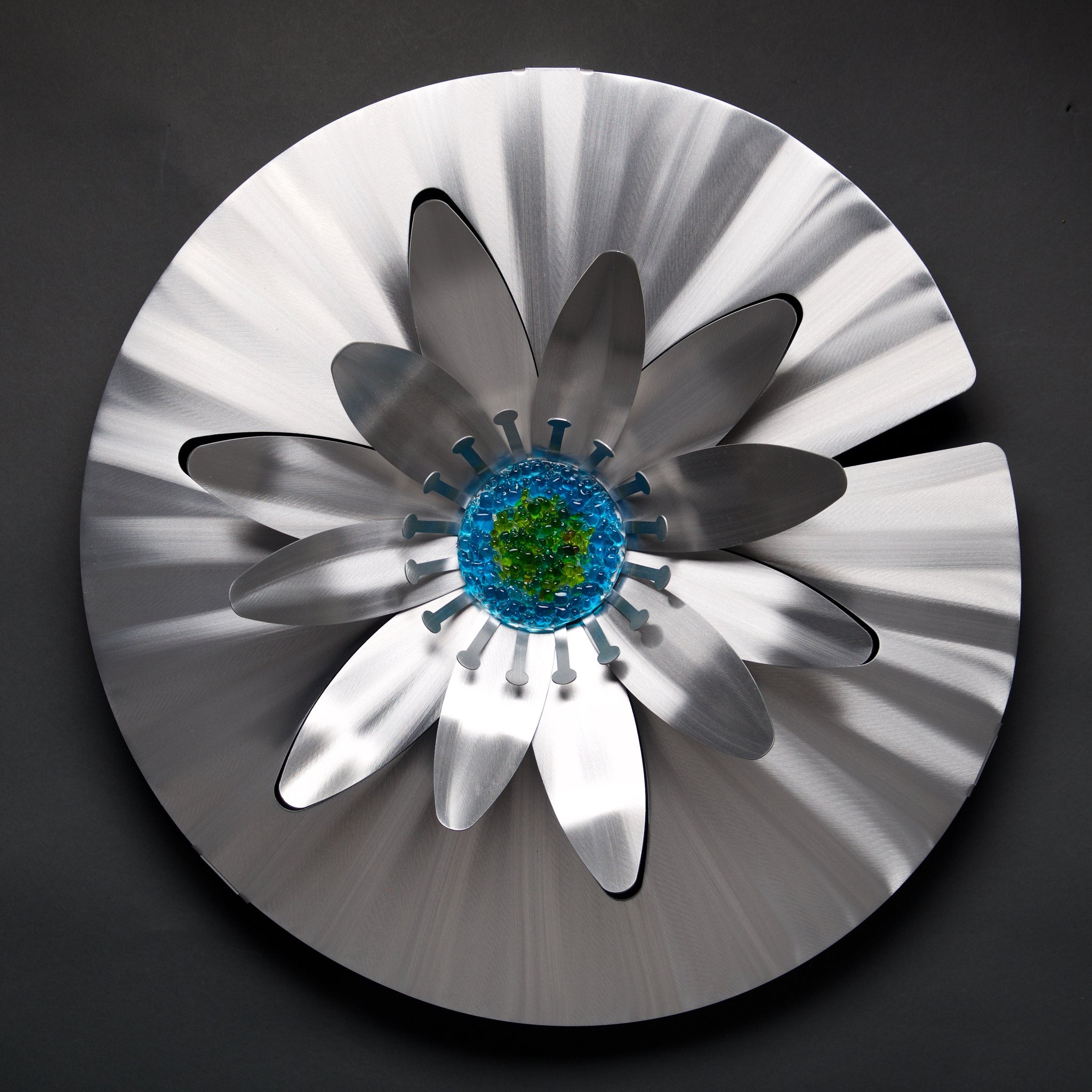 Water Lily - by Sondra Gerber - ©2019 Metal Petal Art