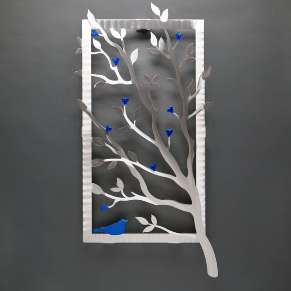 Window View with Glass - by Sondra Gerber - ©2019 Metal Petal Art