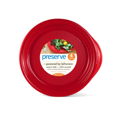 Preserve red plates