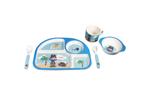 BAMBOO STUDIO KIDS 5 PIECE BLUE PIRATE