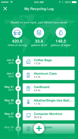 RecycleNation's New Innovative Mobile App