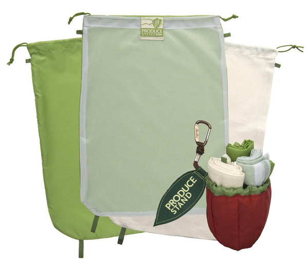 Chico Bag Repete Hemp Amp Mesh Reusable Produce Bags With