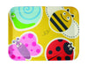 Bamboo Studio 100% Bamboo Kids/Babies Reusable Rectangular Tray Set, 4 piece