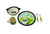 Ecobamboo Ware Babies/Kids/Toddlers Bamboo Dinnerware Set, 5 Piece, Parker The Panda