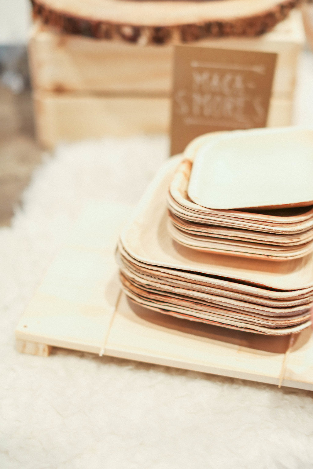 ... Frondware 5\  Palm Leaf Square Small Dessert Plates Natural Disposable Dinnerware Set ... & Paper Plate Alternatives - Small Palm Tree Plates - Paperless ...